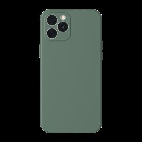 Husa pentru Apple iPhone 12 Pro, Baseus Protective Case, Silicon, Verde, 6.1 inch