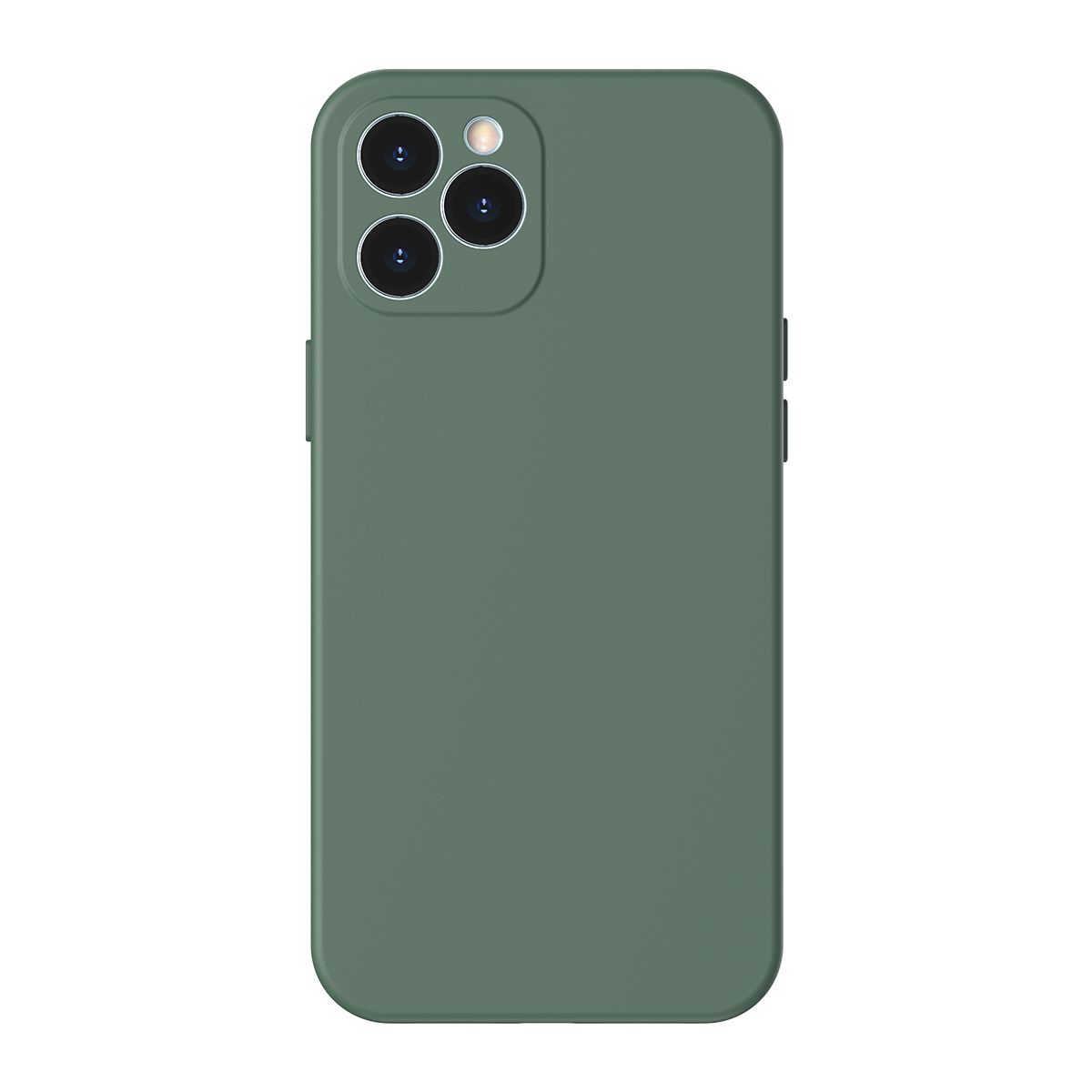 Husa pentru Apple iPhone 12 Pro, Baseus Protective Case, Silicon, Verde, 6.1 inch imagine