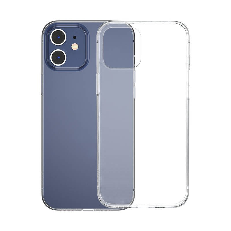 Husa pentru Apple iPhone 12 / 12 Pro, Baseus Simplicity Case, Transparent, 6.1 inch imagine
