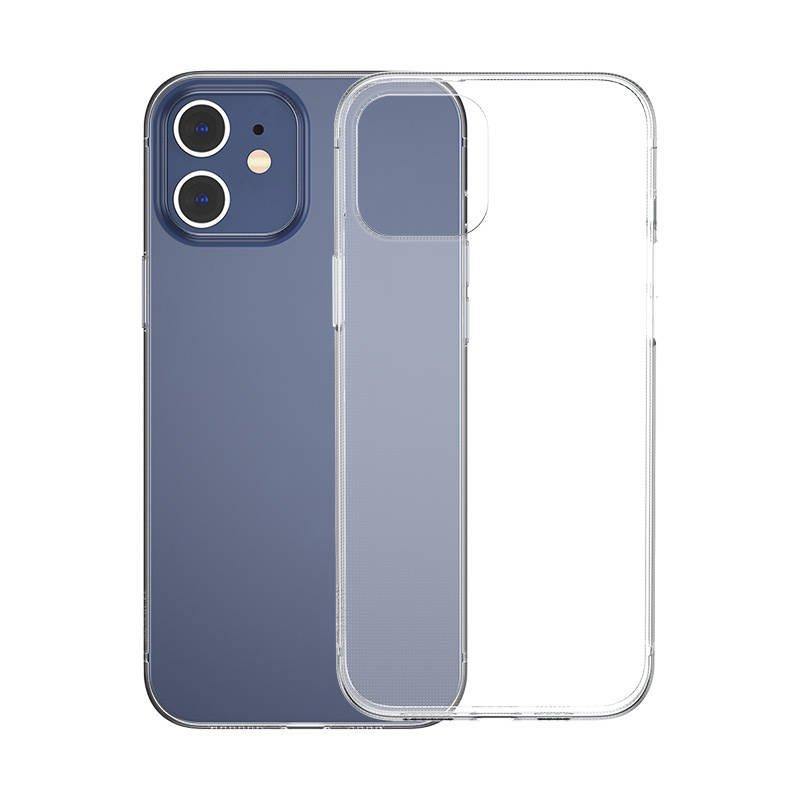 Husa pentru Apple iPhone 12 / 12 Pro, Baseus Simplicity Case, Transparent, 6.1 inch imagine