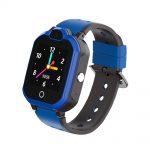 Ceas SmartWatch Pentru Copii Motto LT05, Albastru cu Localizare GPS, Buton SOS, Apel video, Mesaje vocale si text, Camera foto
