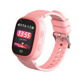 Ceas SmartWatch Pentru Copii Motto LT08, Roz cu Localizare GPS, Camera Foto, Geofence, Istoric, Pedometru, Alarma, Vibratii