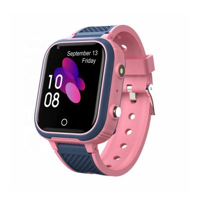 Ceas SmartWatch Pentru Copii Motto LT21, Roz cu Localizare GPS, Geofence, Istoric, Camera foto, Alarma