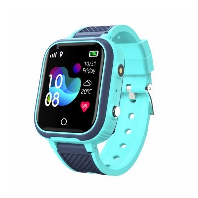 Ceas SmartWatch Pentru Copii Motto LT21, Verde cu Localizare GPS, Geofence, Istoric, Camera foto, Alarma