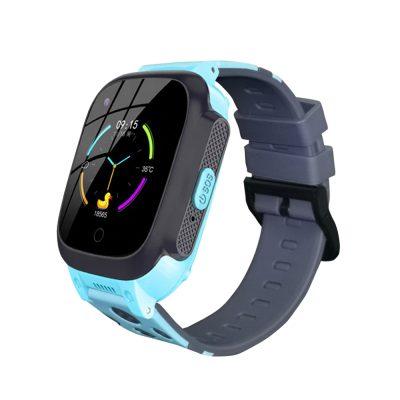 Ceas SmartWatch Pentru Copii Motto LT25, Albastru cu Localizare GPS, Termometru, History, Pedometru, Buton SOS, Mesaje vocale & text
