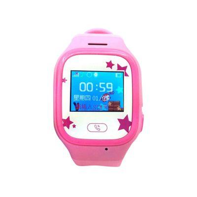 Ceas SmartWatch Pentru Copii Motto TD 01, Roz cu Lanterna, Localizare GPS, Comunicare bi-directionala, Istoric traseu, Pedometru