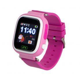 Ceas SmartWatch Pentru Copii Motto TD 02, Roz cu Pedometru, Geofence, Istoric, Alarma, Localizare GPS, Apel SOS