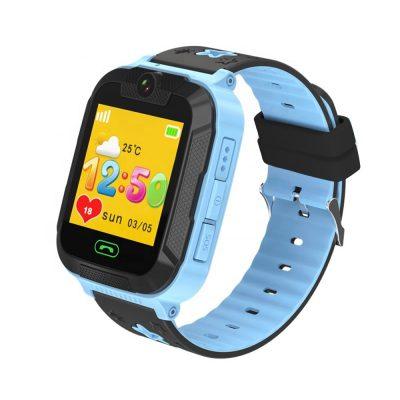 Ceas SmartWatch Pentru Copii Motto TD 07S, Albastru cu Camera Foto, Localizare GPS, Pedometru, Perimetru de siguranta, Istoric traseu