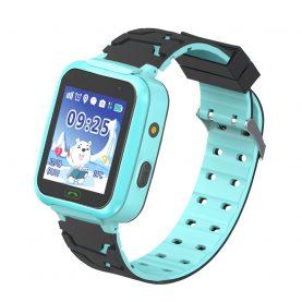 Ceas SmartWatch Pentru Copii Motto TD 16, Albastru cu Camera foto, Apel de urgenta, Istoric Traseu, Localizare GPS, Pedometru, Permitru de siguranta