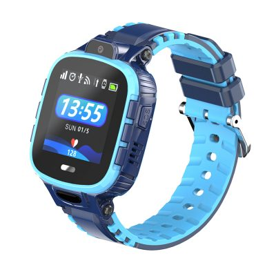 Ceas SmartWatch Pentru Copii Motto TD26, Albastru cu Localizare GPS, Waterproof, Apel de urgenta, Chat / voce, Istoric traseu, Pedometru