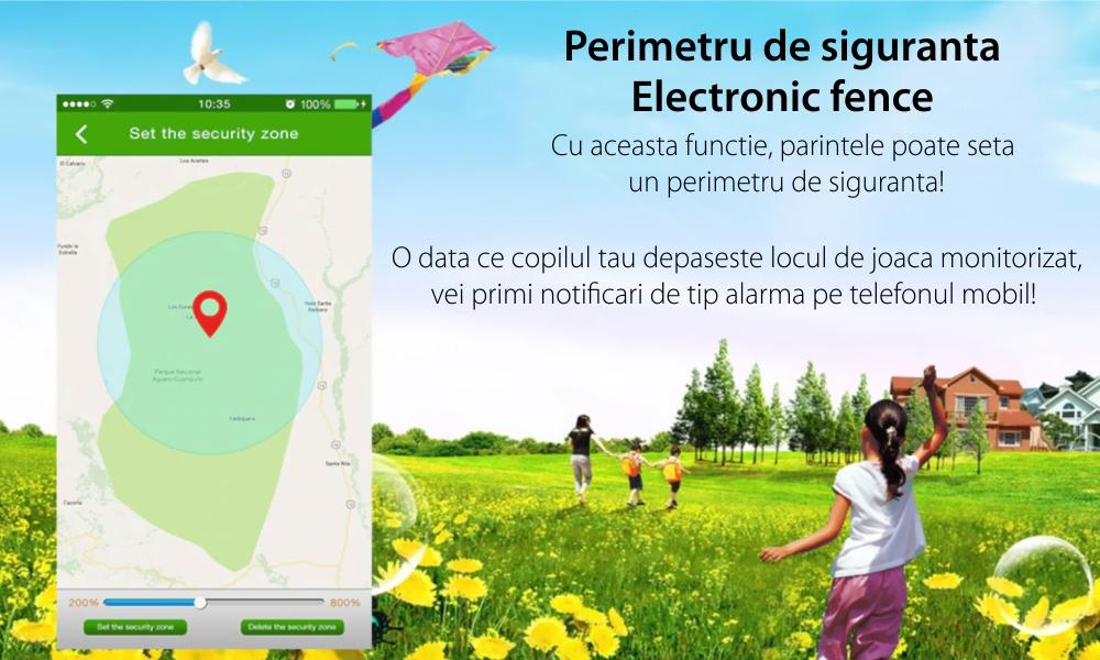 Ceas SmartWatch Pentru Copii Motto TD 07S, Roz cu Camera Foto, Localizare GPS, Pedometru, Perimetru de siguranta, Istoric traseu