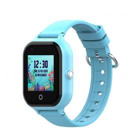 Ceas Smartwatch Pentru Copii, Wonlex KT24, Albastru, Nano SIM, 4G, Pedometru, Monitorizare, Camera, Contacte, Apel SOS