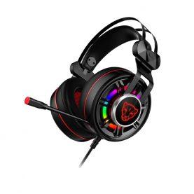 Casti Pentru Gaming Motospeed G919, Microfon, Conexiune AUX, Lumini RGB, Cablu 1.6 m
