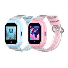Pachet Promotional 2 Smartwatch-uri Pentru Copii, Wonlex KT23, Albastru + Roz, Nano SIM, 4G, Pedometru, Localizare GPS, Microfon, Monitorizare & SOS