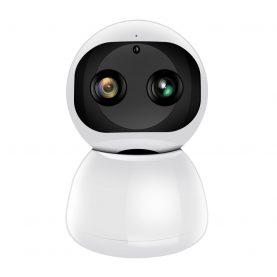 Video Baby Monitor Little Binocular Snowman AD118, Monitorizare 120°, Zoom 8X, Comunicare bidirectionala, Vedere nocturna