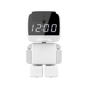 Video Baby Monitor Cube A380, Monitorizare 360°, Comunicare bidirectionala, Inregistrare Full HD, Vedere nocturna, Slot MicroSD