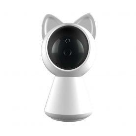 Video Baby Monitor Little Cat A280, Comunicare bidirectionala, Rotire 360°, Rezolutie 1080P, Vedere nocturna, Slot microSD