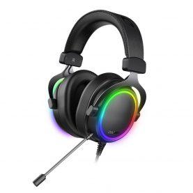 Casti Pentru Gaming Dareu EH925 Pro, Microfon, Functie ENC, Lumini RGB, Conexiune USB, Cablu 2.2 m