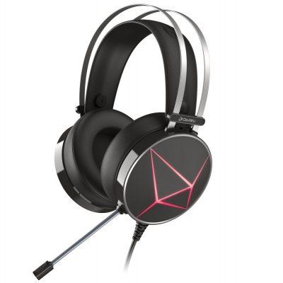 Casti Pentru Gaming Dareu EH722X, Microfon, Iluminare RGB, Sonorizare 7.1, Conexiune USB, Cablu 2.4 m