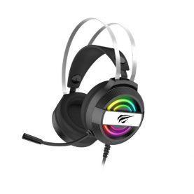Casti Pentru Gaming Havit H2026d, Microfon, Iluminare RGB, Conexiune Jack 3.5 + USB, Lungime cablu 2 m