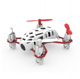 Drona Hubsan H111C Nano Q4, Autonomie 6 minute, Distanta maxima 50 m, Camera 480P, Incarcare USB