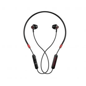 Casti BlitzWolf AIRAUX AA-NH2, Wireless, Bluetooth 5.0, Protectie IPX5, Rosu – Negru