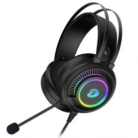 Casti Pentru Gaming Havit EH416s, Microfon, Iluminare RGB, Difuzor 50 mm, Conexiune USB, Jack 3.5 mm