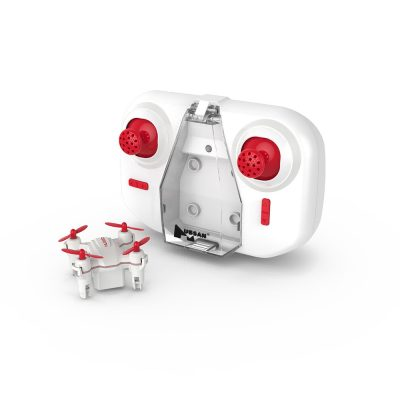 Drona Hubsan H001, Baterie 80 mAh, Autonomie 8 minute, Rotire 360, Controller, Giroscop