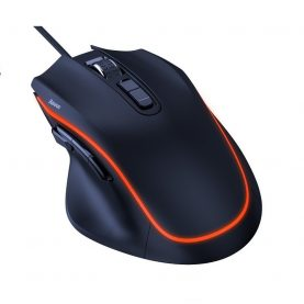 Mouse Gaming Baseus GAMO, Iluminare LED, 9 Butoane, Conexiune USB, 6400 DPI