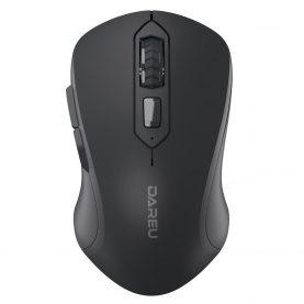 Mouse Dareu LM115G, Conexiune Wireless, 6 Butoane, Sensibilitate 800 – 1600 DPI