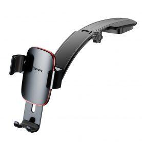 Suport auto universal Baseus Metal Age SUYL-F0G, Fixare adeziva pe bord, Cleme flexibile