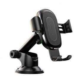 Suport auto universal cu incarcare wireless Baseus WXYL-A01, Standard QI, Rotire 360°