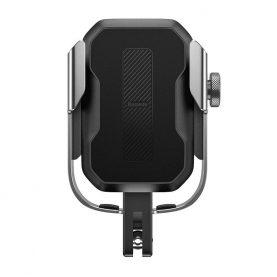 Suport telefon pentru bicicleta / motocicleta Baseus SUKJA-0S, Gri, Aluminiu