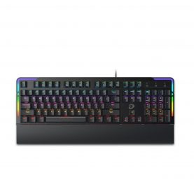 Tastatura Gaming Dareu EK815s, Conexiune USB, Iluminare RGB, Ergonomic, Suport detasabil