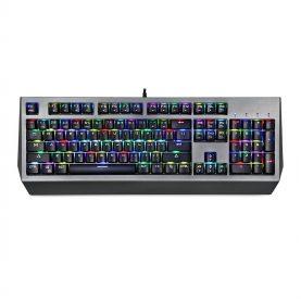 Tastatura Gaming Motospeed CK99, Iluminare RGB, Conexiune USB, Lungime cablu 1.6 m, Ergonomic