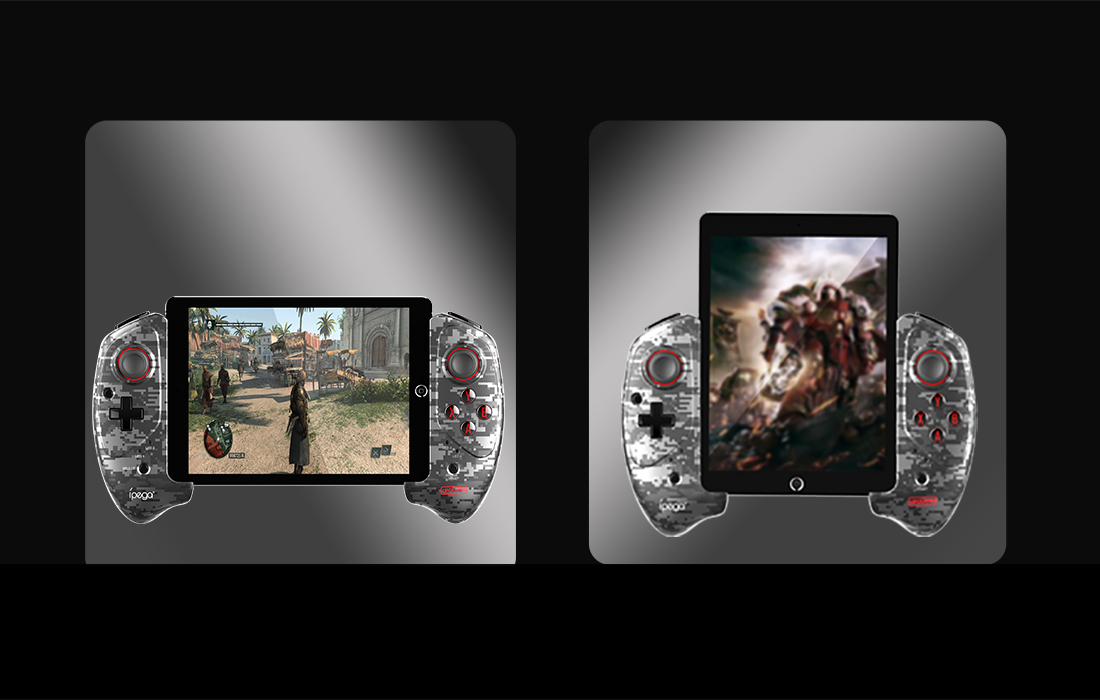 Gamepad Controller Ipega PG-9083A, Wireless, Bluetooth 5.0, Baterie 380 mAh, Compatibil cu Android, iOS & Windows