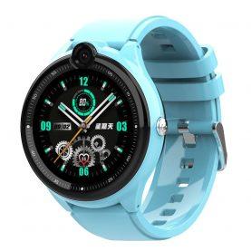 Ceas Smartwatch Pentru Copii, Wonlex KT26, Albastru, Nano SIM 4G, Functie telefon, Intercom, Apel video, Contacte, Istoric apeluri, Buton SOS