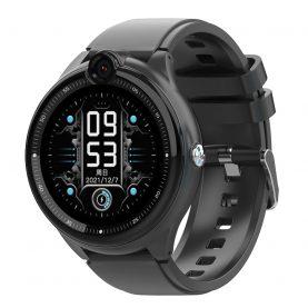 Ceas Smartwatch Pentru Copii, Wonlex KT26, Negru, Nano SIM 4G, Functie telefon, Intercom, Apel video, Contacte, Istoric apeluri, Buton SOS