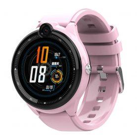 Ceas Smartwatch Pentru Copii, Wonlex KT26, Roz, Nano SIM 4G, Functie telefon, Intercom, Apel video, Contacte, Istoric apeluri, Buton SOS