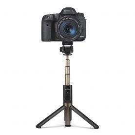 Selfie stick BlitzWolf BW-BS3 Sport, Negru, Portabil 3 in 1, Bluetooth 3.0