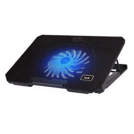 Cooler gaming pentru laptop Havit F2030, Iluminare LED, Ajustabil, Zgomot 21 dB