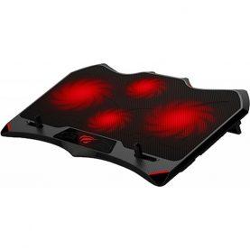 Cooler gaming pentru laptop Havit F2081, Alimentare USB, 4 Ventilatoare